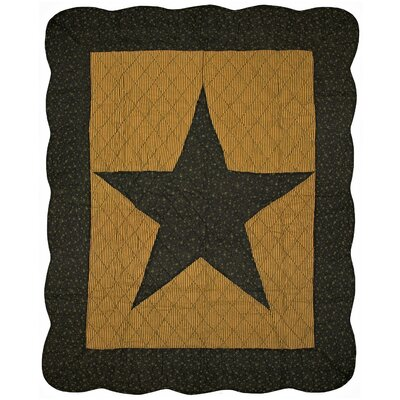 Midnight Star Cotton Throw Blanket