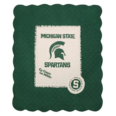 Michigan State University Cotton Throw