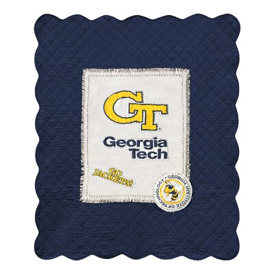 Georgia Institute of Technology Cotton Throw