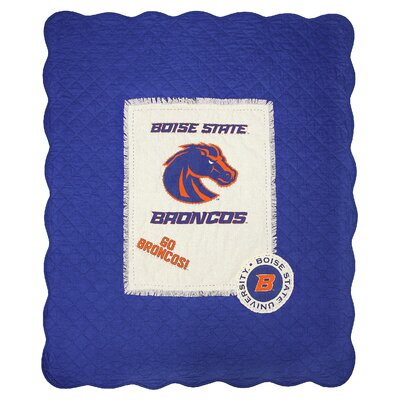 Boise State University Cotton Throw
