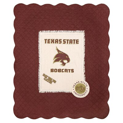 Texas State University Cotton Throw