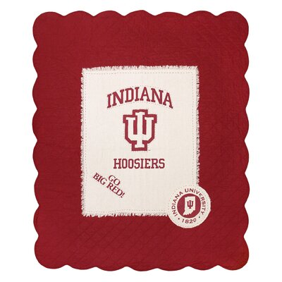Indiana University Cotton Throw