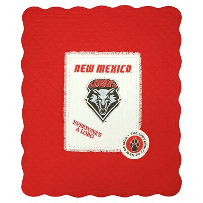 University of New Mexico Cotton Throw