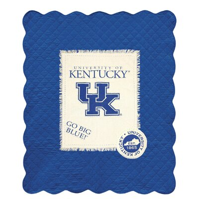 University of Kentucky Cotton Throw