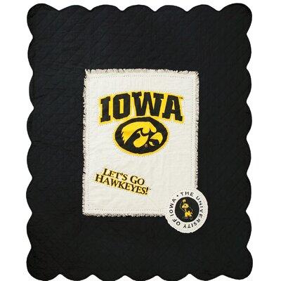 University of Iowa Cotton Throw