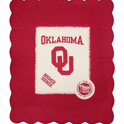 University of Oklahoma Cotton Throw
