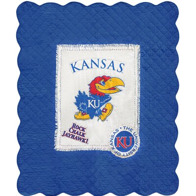 University of Kansas Cotton Throw