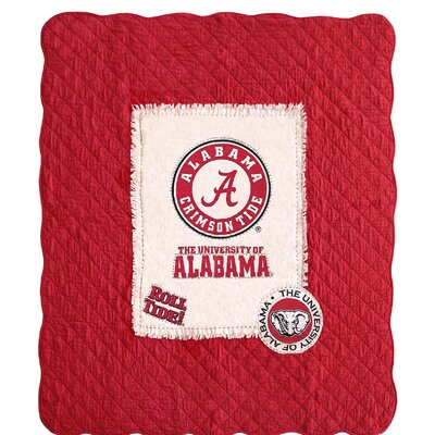 University of Alabama Cotton Throw