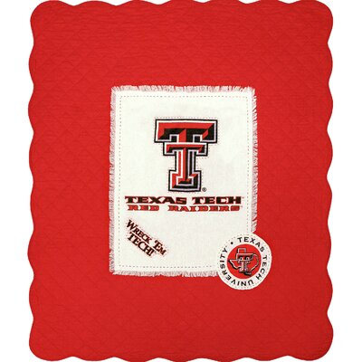 Texas Tech University Cotton Throw