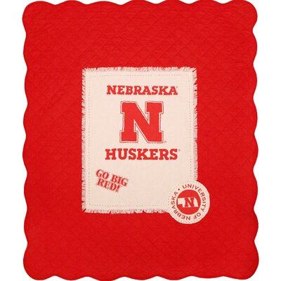 University of Nebraska Cotton Throw