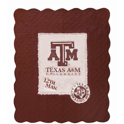 Texas A & M University Cotton Throw