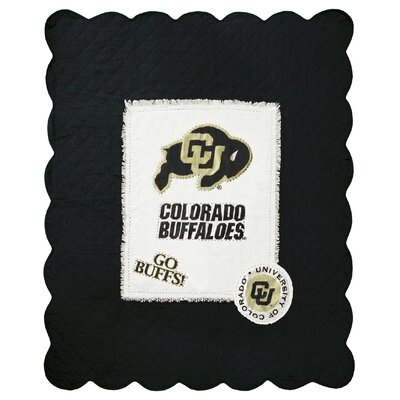 University of Colorado Cotton Throw