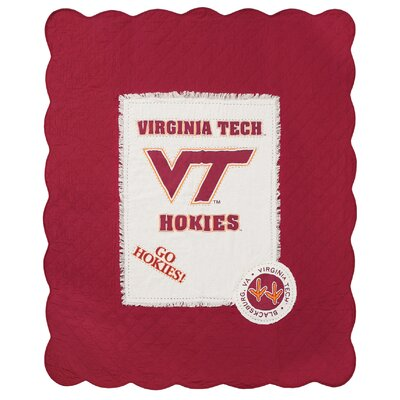 Virginia Tech University Cotton Throw