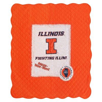 University of Illinois Cotton Throw
