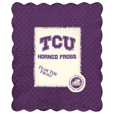 Texas Christian University Cotton Throw