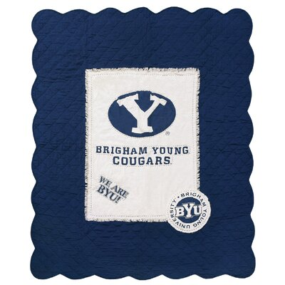 Brigham Young University Cotton Throw