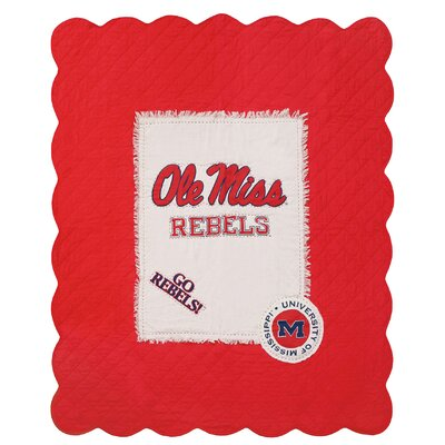 University of Mississippi Cotton Throw