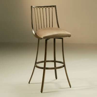 Victoria Swivel Bar Stool Seat height: 30