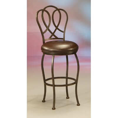 Cherly Swivel Bar Stool Height: 30