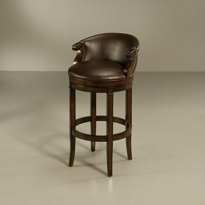 Princetown Swivel Bar Stool Size: 26