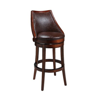 Alta Loma Swivel Bar Stool Seat Height: 26