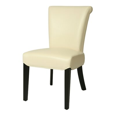 Hannah Parsons Chair Chair Upholstery: White