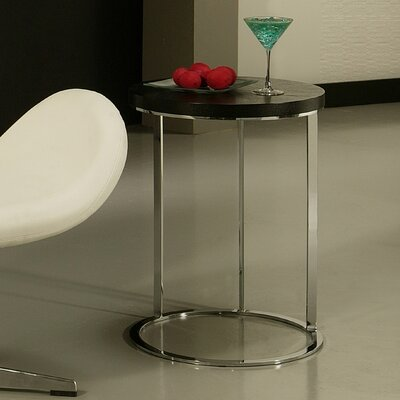 Metro End Table Finish: Black