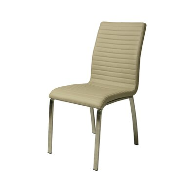 Judith Side Chair Upholstery: Ivory