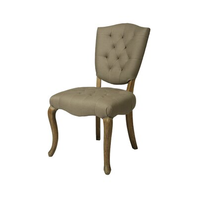 Philadelphia Side Chair Side Chair Upholstery: Grey