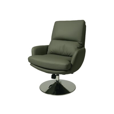 Pennywise Swivel Lounge Chair Upholstery: Gray
