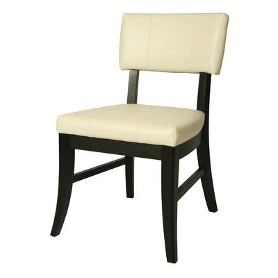 Eritrea Side Chair Side Chair Upholstery: White