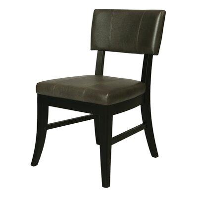 Eritrea Side Chair Side Chair Upholstery: Dark Gray