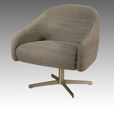 Dawsonville Lounge Chair Color: Linen Gray Fabric