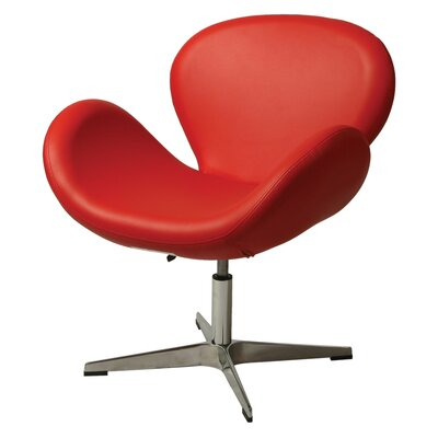 Le Parque Lounge Chair Finish: Red