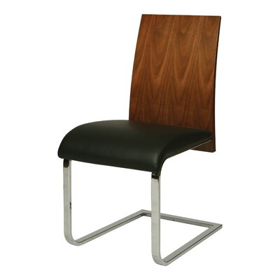 Federick Side Chair Upholstery: Black