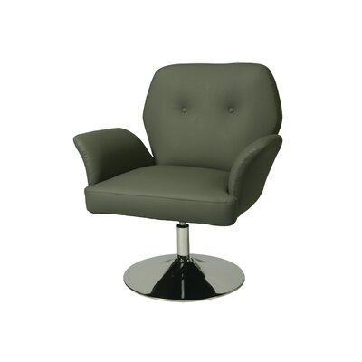 Zevi Armchair Color: Gray
