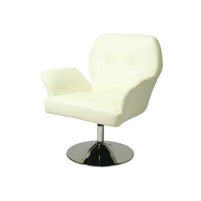 Zevi Armchair Upholstery: Ivory