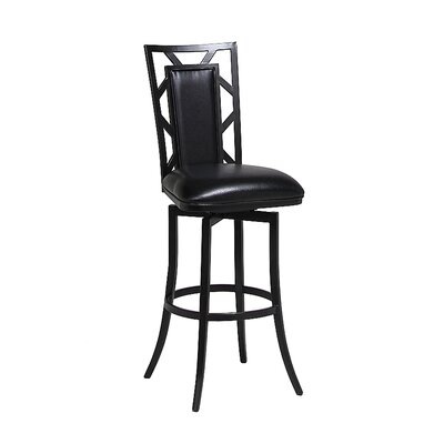 Norland Swivel Bar Stool Seat Height: 26
