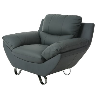 Mableton Lounge Chair Color: Gray