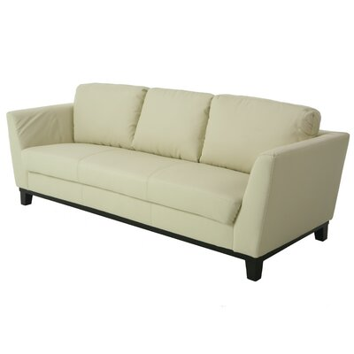 New Zealand Sofa   Upholstery: Ivory