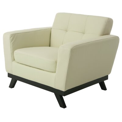 Qarchak Armchair Color: Ivory