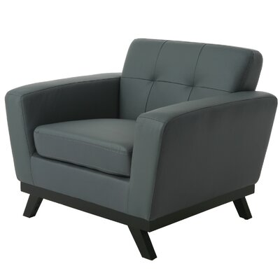 Qarchak Armchair Color: Gray