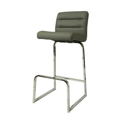 Zetta 26 inch Bar Stool Upholstery: Gray