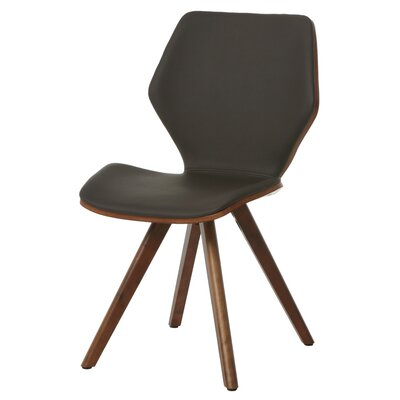 Glasgow Side Chair Finish: Walnut