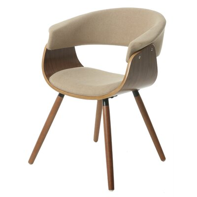 Olivia Arm Chair Upholstery: Natural