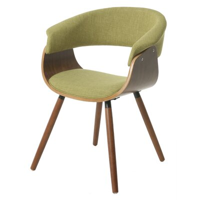 Olivia Arm Chair Upholstery: Green