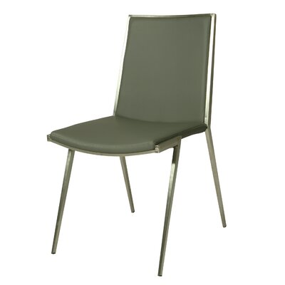 Roxanne Side Chair Upholstery: Gray