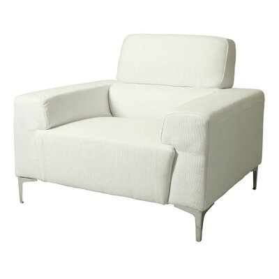 Trafalgar Arm Chair Color: White