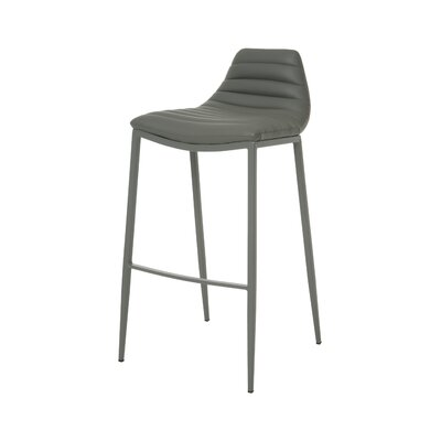 Grand Plaza 30 Bar Stool Base Finish: BG Matte Gray