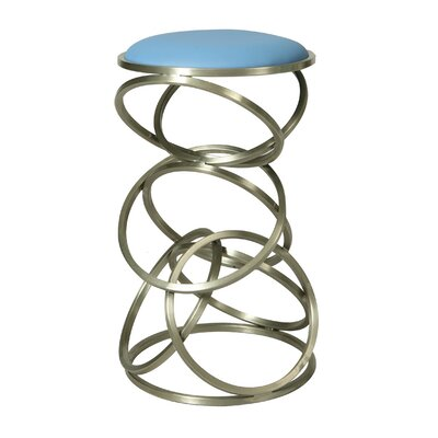Roxanne 29.5 Bar Stool Upholstery: Light Blue
